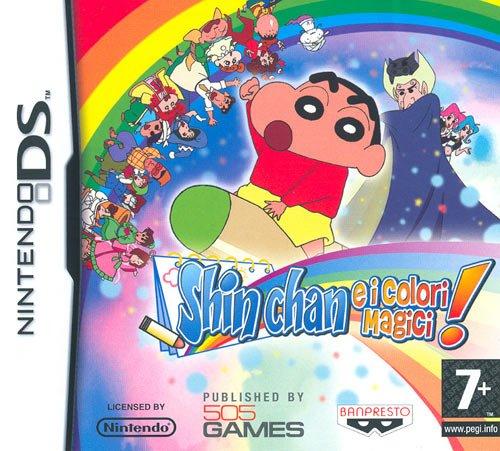 Shin Chan E I Colori Magici