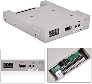 Tangxi Disc Drive Replacement for Embroidery Machine, 1.44MB Floppy Drive USB Emulator Replacement SFR1M44-FU-DL Hard Disk Drive Board Suitable for Embroidery Machine