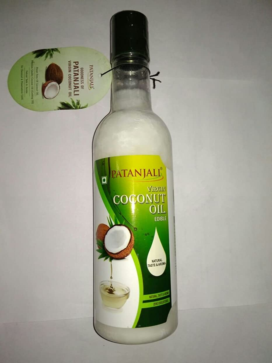 交換不純征服者Patanjali Virgin Coconut Oil, 500ml