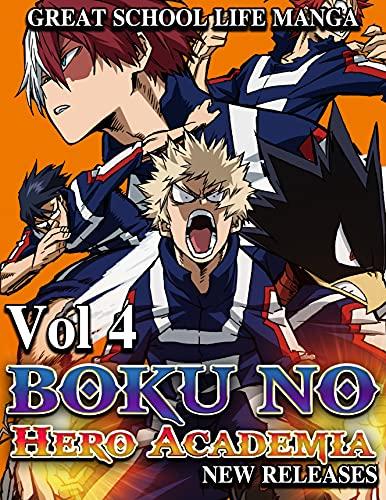 Great School life Manga Boku no Hero Academia New Releases: Full Collection Boku no Hero Academia Vol.4 (English Edition)