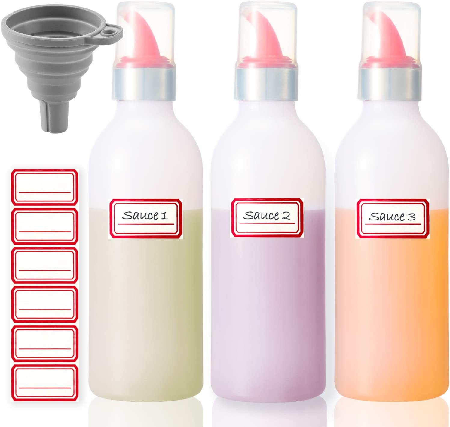 Condiment Max 90% OFF Squeeze Bottle Sauce Clearance SALE Limited time Squirt for Kitchen