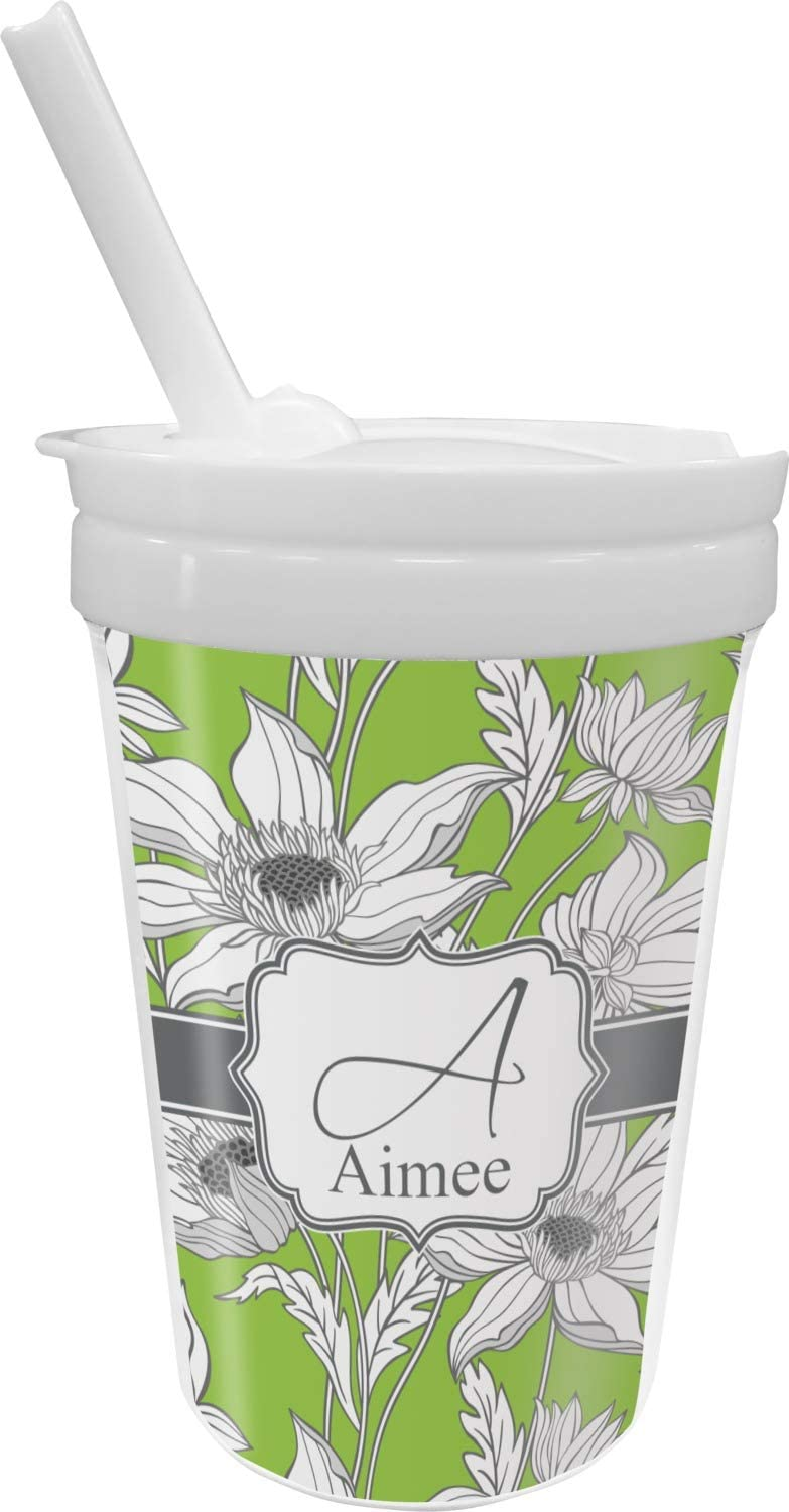 Shipping Virginia Beach Mall included Wild Daisies Sippy Cup Personalized with Straw