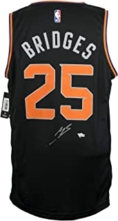 Mikal Bridges Phoenix Suns Signed Black Fast Break Fanatics Basketball Jersey Fanatics
