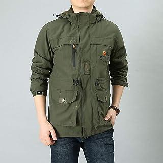 Qiyun Male Long Sleeves Zippered Sports Wear Casual Hooded Cardigan Outwear Cycling Skiing