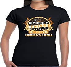 Women's It's A Kimberly Thing You Wouldn't Understand Shirt - Tshirt