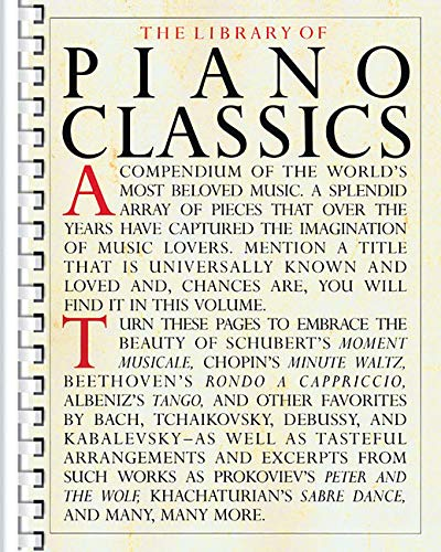The Library of Piano Classics (All Of My Love Keyboard Solo Sheet Music)