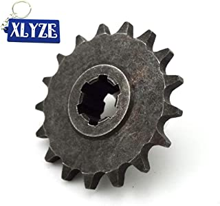 XLYZE 25H 7T embrague pi/ñ/ón pi/ñ/ón pi/ñ/ón delantero pi/ñ/ón para 2 tiempos 47cc 49cc bolsillo bicicleta Mini ATV Quad Minimoto