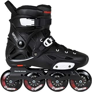 Powerslide Imperial One80 Skates - Black/Crimson