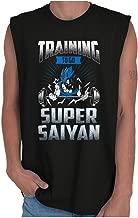 Training to Super Saiyan Goku Dragon Z Ball Sleeveless T Shirt