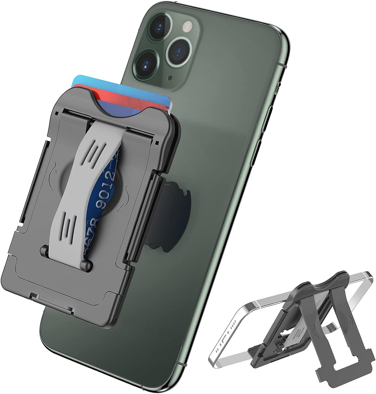 Phone Card Holder Senose Wallet Stick Det with Superlatite Back of On Dallas Mall