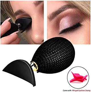 Adpartner Eyeshadow Stamp Lazy Eye Shadow Applicator Crease with Winged Eyeliner Stamps for Makeup Beginners Quick Eyes Beauty Make Up Tools to Make Precise Eyeshadow in Seconds (1 PCS)