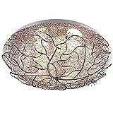 El interior puede ser una exquisita lámpara de techo de nido de pájaro, con una exquisita apariencia en forma de rama, decoración natural, adecuada para el pasillo del dormitorio, cocina, restaur