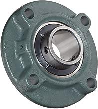 (Pack 2) DOJA Industrial | 2 Unidades de Rodamientos con Soporte UCFC 204 Cojinete de Bolas para Eje de (20mm Cojinetes con Soportes para: fresadora, Impresora 3D, Bricolaje.