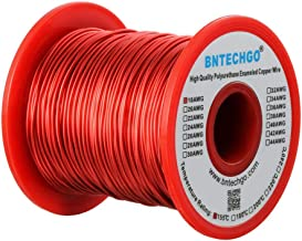 BNTECHGO 18 AWG Magnet Wire - Enameled Copper Wire - Enameled Magnet Winding Wire - 1.0 lb - 0.0393