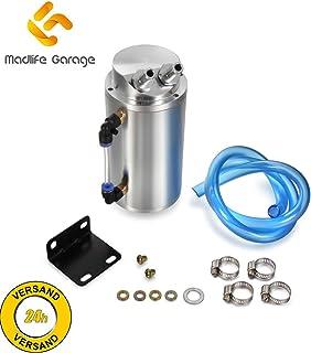 Madlife Garage Universal 750ml Öl Auffangbehälter Filter Catch Tank Ölsammler Ölsammelbehälter Ölbehälter