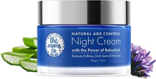 The Moms Co Natural Age Control Night Cream l Face Cream l Overnight Repair & firming l Reduce Fine Lines & Wrinkles l Ant...