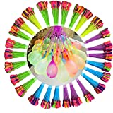 Water balloon,party game quickly fills 444 balloons,12 Bunches for Swimming Pool Outdoor Summer Fun ,Summer swimming pool party