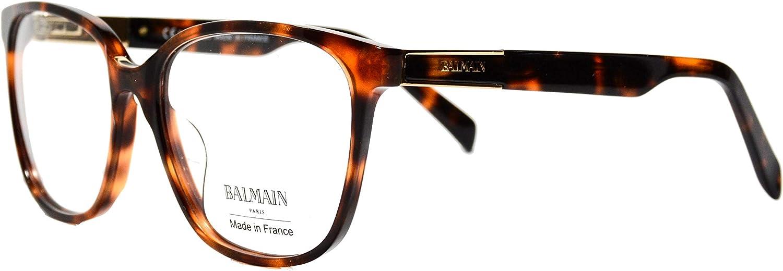 Eyeglasses Balmain BL1099 02 Havana frame Size 5516140