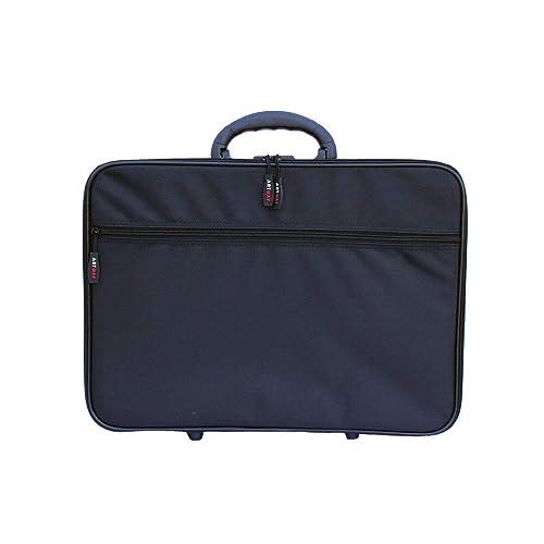 ArtWay - A3 Portfolio Carry Case - Shoulder and Internal Straps - Large Art Folder with Internal and External pockets