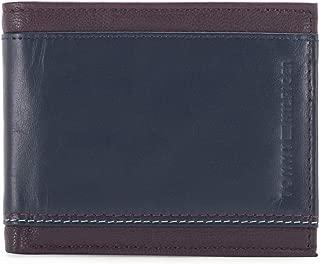 Tommy Hilfiger Wine/Navy Men's Wallet (8903496110326)
