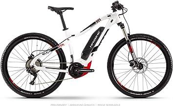 Haibike 2019 Sduro HardSeven 2.0 - Bicicleta eléctrica (27,5''), color blanco, negro y rojo