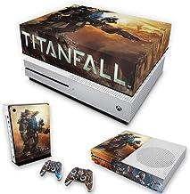 Capa Anti Poeira e Skin para Xbox One S Slim - Titanfall