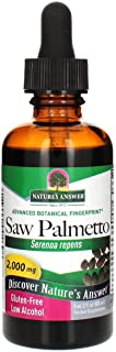 Natures' Answer Saw Palmetto Berry with Organic Alcohol, 2-Fluid Ounces | Prostate Support | Natural Urinary Health | Prom...