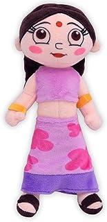 Chhota Bheem Chutki Plush Toy, Purple (20 cm)