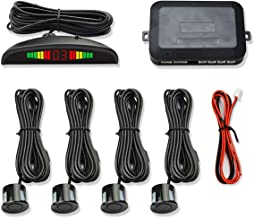 $21 » Tivollyff 12V Car Reversing Radar Parktronic LED Parking Sensor with 4 Sensors Reverse Backup Car Parking Radar Monitor De...