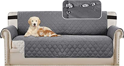 Large Couch Covers 4 Seater Sofa Covers Sofa Protectors for Dogs/Pets/Kids Furniture Covers Waterproof Soft Thick Quilted,...