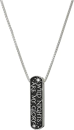 Wrinkle In Time - Wild Nights Are My Glory 19 Inch Adjustable Necklace