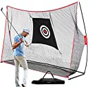 TUSY 10'x3'x7'ft Golf Net for Training Practice Indoor/Outdoor