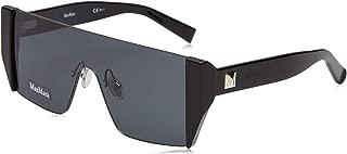 Max Mara MM Lina II 807 Black MM Lina II Visor Sunglasses Lens Category 3 Size