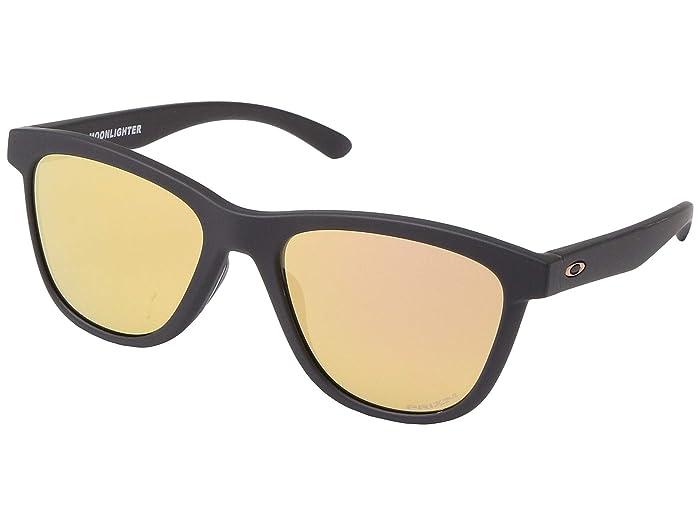 Oakley Moonlighter (Velvet Black) Plastic Frame Fashion Sunglasses