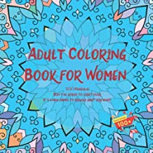 Adult Coloring Book for Women 100 Mandalas - Don't be afraid to start over. It's a new chance to rebuild what you want.