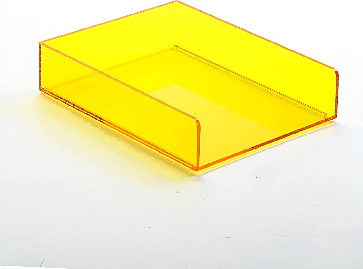 Outlet ☆ Free Shipping MEYYY Acrylic A4 Raleigh Mall Letter Trays Stackable Tidy File Ho Office Desk
