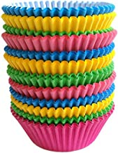 Warmparty Baking Cups Cupcake Liners, Standard Sized, 300 Count (Multicolour)