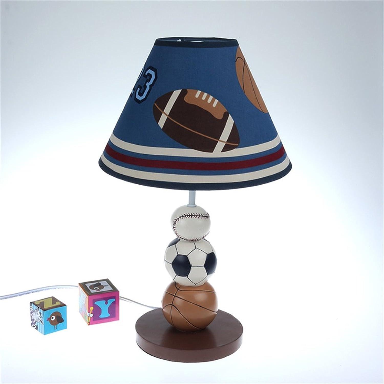 SMC Kinderzimmer Cartoon Ball Tischlampe Schlafzimmer Nachttischlampe Kreative Mode Nette Warme Junge Mdchen Dekorative Tischlampe (Farbe   Button switch)