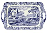 Pimpernel Spode Blue Italian Collection Large Handled Tray - 18.9' x 11.6'