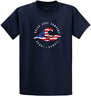Koloa Surf Vintage USA Flag Wave Logo T-Shirts,Tanks and Hoodies