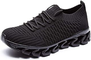 [長途跋株式會] 男女兼用の大人の偶然のスポーツの靴通気性のスニーカーの屋外の運動靴