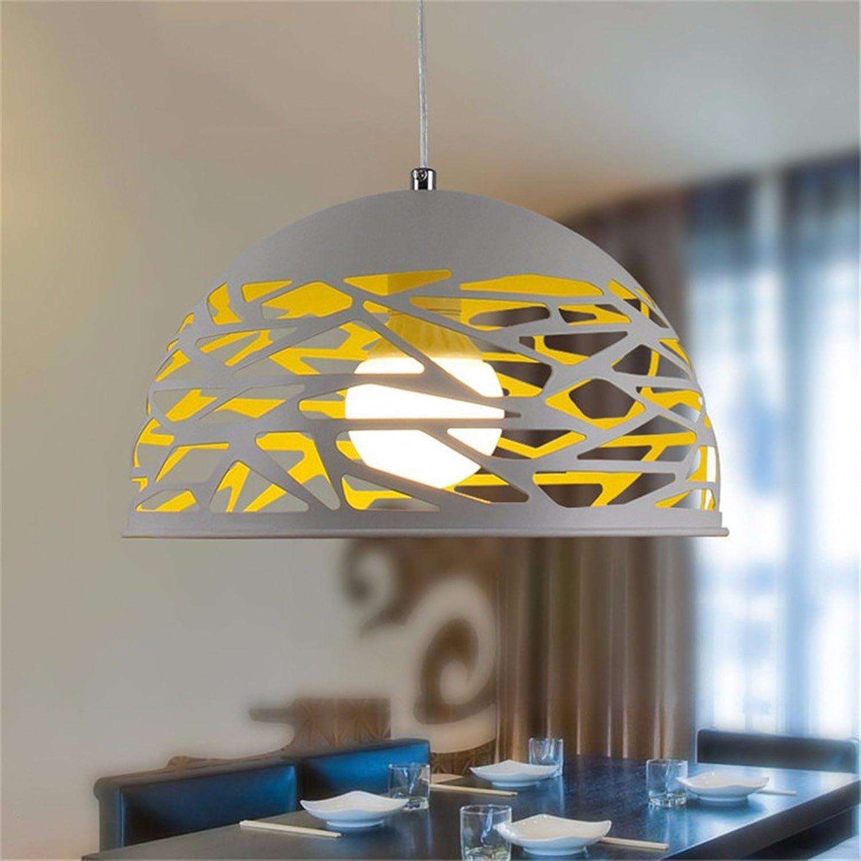 WoOnew Hohl schmiedeeisernen Kronleuchter Nordic modernes Wohnzimmer kreative Persnlichkeit Schlafzimmer Art Restaurant, Wei