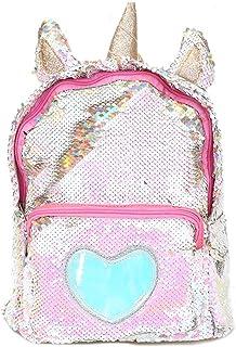 5efcd69aa3 Starte PU Bling Toddler Unicorn Backpack for Girls Trave School Mini  Backpack for Women Sequins Critter