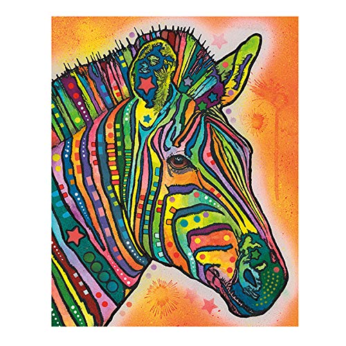 tzxdbh Aquarel kat canvas schilderij modern abstract dierisch olieverfschilderij op muur kunst poster en print voor de kinderkamer muur huis decoratie schilderij & kalligrafie uit één No Frame 13X18 cm Xq-104-4.