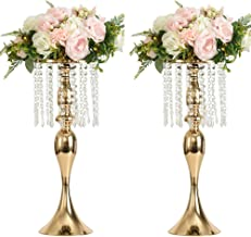 crystal centerpiece stand