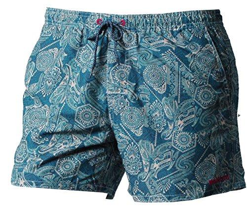 Brunotti Herren Tropic Men Shorts Badeshort, Ketchup, L