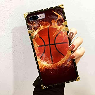 SOKAD Basketball Wallpaper Square Case Compatible with Apple iPhone 7 Plus 8 Plus 5.5inch