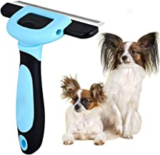 VAXIUJA Pet Grooming Brush, Shaving Comb Farewell Pain Effectively Reduces 95% of Professional Hair Removal Tools,Cat and Dog Massage Brush