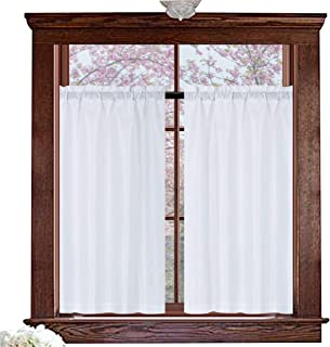 bathroom window curtain