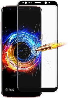 Samsung Galaxy S9 ガラスフィルム S9 液晶保護フィルム【2枚セット】Galaxy S9 au SCV38/docomo SC-02K 3D曲面 全面保護フィルム【日本製素材旭硝子製】最高硬度9H/高透過率99.9%/3D T...